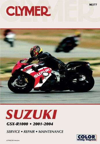9780892879274: Suzuki GSX-R1000, 2001-2004 (Clymer Motorcycle Repair)