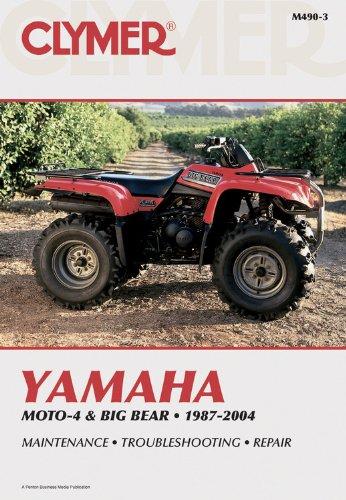 9780892879304: Clymer Yamaha Moto-4 & Big Bear, 1987-2004 (Clymer Motorcycle Repair)