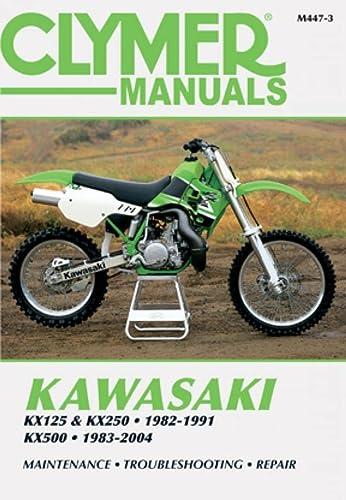 9780892879601: Clymer Kawasaki Kx125 & Kx250 1982-1991, Kx500 1983-2004