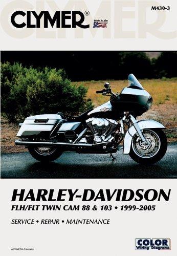 9780892879656: Clymer Harley-Davidson FLH/FLT Twin Cam 88 & 103 1999-2005 (Clymer Motorcycle Repair)