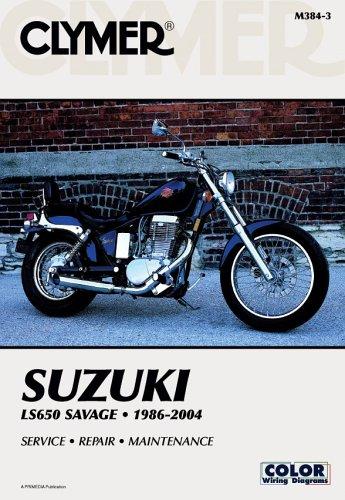 9780892879748: Clymer Suzuki LS650 Savage 1986-2004 (Clymer Motorcycle Repair)