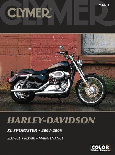 Harley Davidson XL Sportster 2004-2006 (Clymer Motorcycle Repair): Morlan, Michael