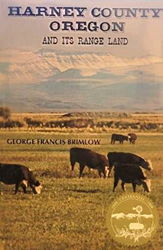 9780892880393: Harney County, Oregon and Its Rangeland
