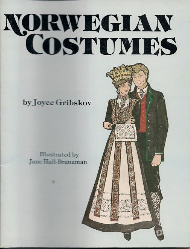 9780892881055: Norwegian Costumes. Color and Cut Out Geography, History, Pictorial