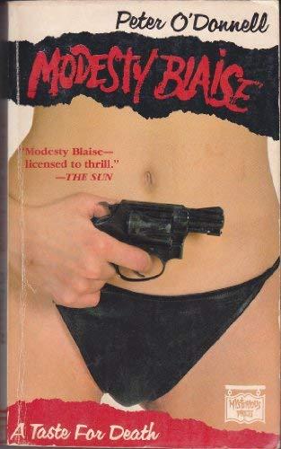 9780892960941: A Taste for Death (Modesty Blaise)