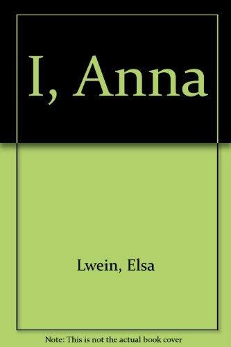 I, Anna (SIGNED Plus SIGNED NOTE Plus MOVIE TIE-INS): Lewin, Elsa