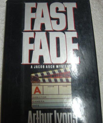 Beispielbild für Fast Fade (Jacob Asch Mystery) zum Verkauf von Wonder Book