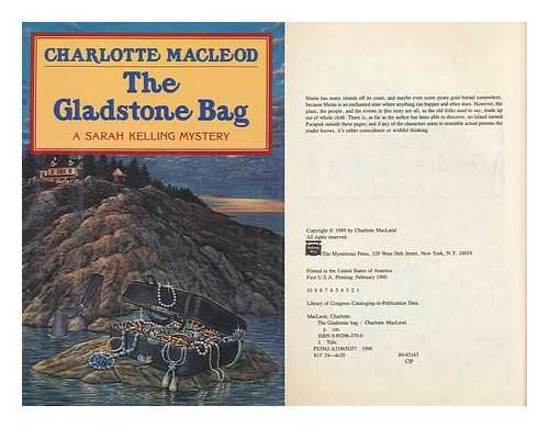 9780892963706: The Gladstone Bag: A Sarah Kelling Mystery