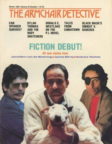 The Armchair Detective, Winter 1990, No 1