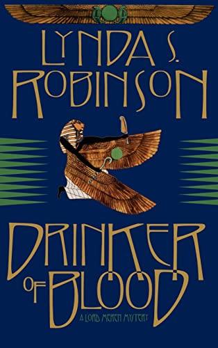 9780892966738: Drinker of Blood (Lord Meren Mysteries (Hardcover))