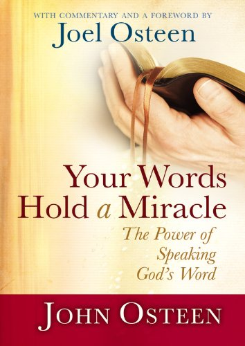 9780892968824: Your Words Hold a Miracle: The Power of Speaking God's Word