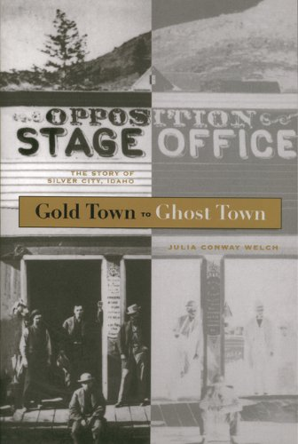 9780893010874: Gold Town to Ghost Town: The Story of Silver City, Idaho (Gem books)