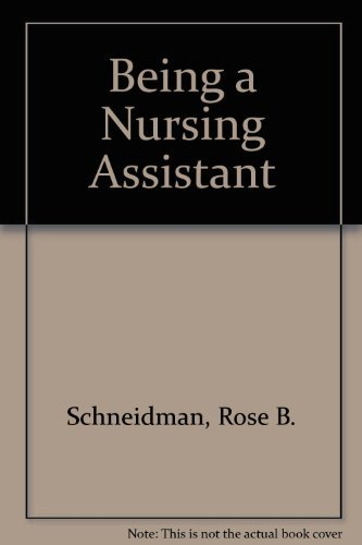 9780893031152: Being a Nursing Assistant