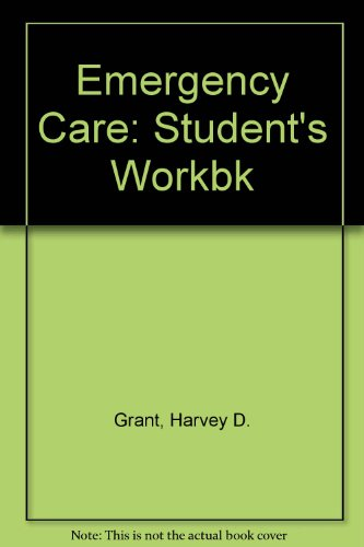 9780893031862: Self Instructional Workbook for Emergency Care