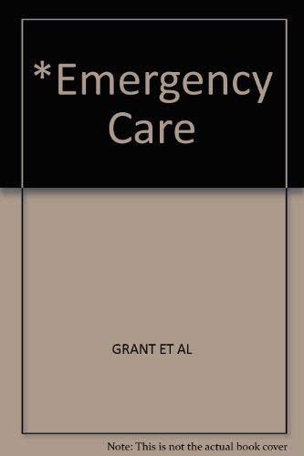 9780893032562: *Emergency Care