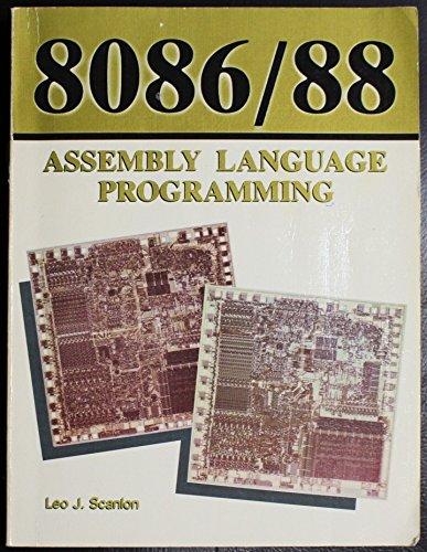 9780893034245: 8086/8088 Assembly Language Programming