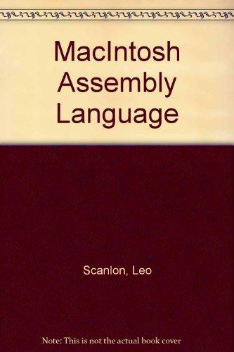 9780893036461: MacIntosh Assembly Language