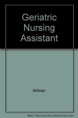 9780893037079: Geriatric Nursing Assistant