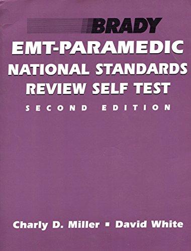 9780893037208: Emt-paramedic National Standards Review Self Test