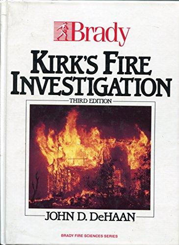 9780893037253: Kirk's Fire Investigation