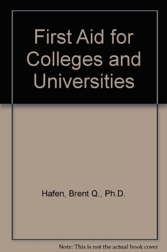 9780893038779: First Aid for Colleges and Universities