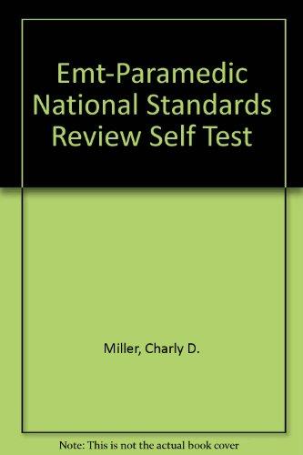 9780893039554: Emt-Paramedic National Standards Review Self Test