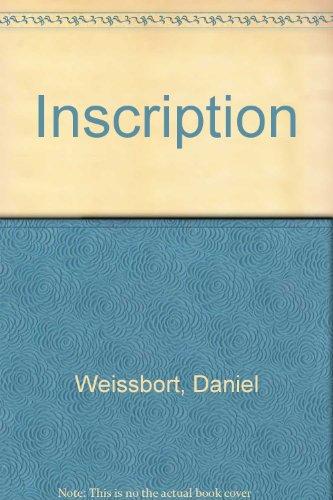 Inscription.: Weissbort, Daniel.