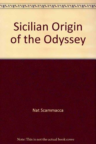 9780893045937: Sicilian Origin of the Odyssey