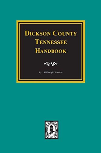 Dickson County, Tn., Handbook: Jill Knight Garrett