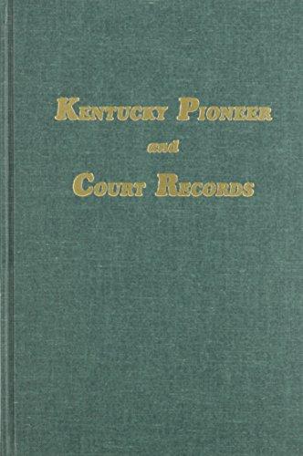 KENTUCKY PIONEER AND COURT RECORDS: Mrs. Harry Kennett McAdams