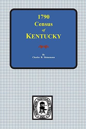 First Census of Kentucky, 1790: Heinemann,Charles Brunk