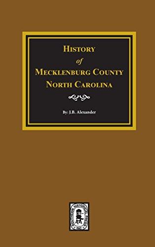 9780893084905: History of Mecklenburg, County, N.C