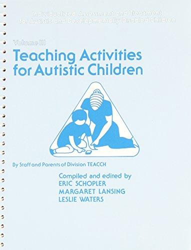 9780893118006: Teaching Activities for Autistic Children