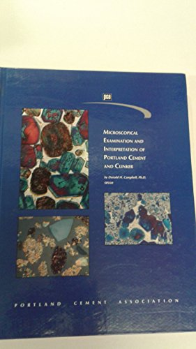 9780893120849: Microscopical Examination and Interpretation of Portland Cement and Clinker