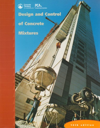 Design and Control of Concrete Mixtures: Steven H. Kosmatka, Beatrix Kerkhoff, William C. Panarese