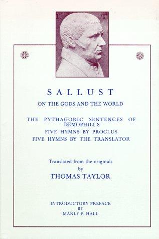 Sallust: On the Gods and the World: Sallust