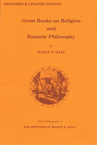 9780893148218: Great Books on Religion & Esoteric Philosophy: With a Bibliography of Related Material Selected from the Writings of Manly P. Hall