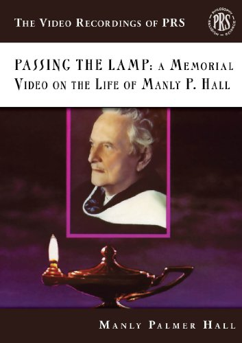 9780893149130: Passing the Lamp: A Memorial Video on the Life of Manly P. Hall