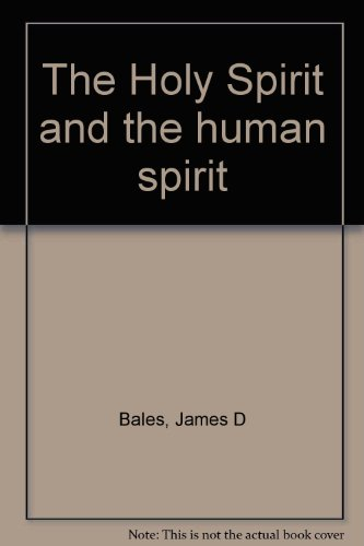 9780893151041: The Holy Spirit and the human spirit