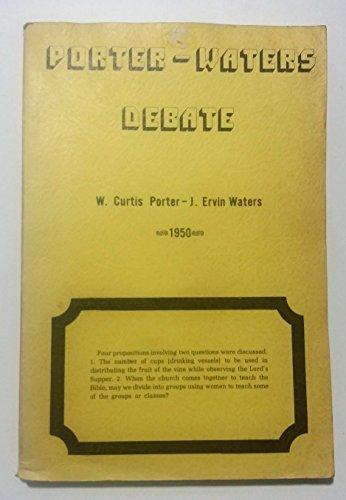 9780893152055: Porter-Waters debate: Quincy, Illinois, November 7-10, 1950