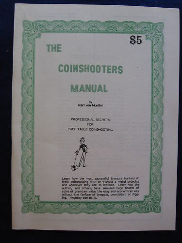 9780893166328: Coinshooters Manual: Professional Secrets for Profitable Coinshooting