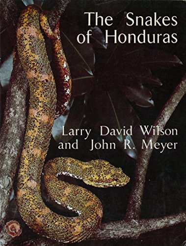 9780893260736: The snakes of Honduras (Publications in biology and geology)