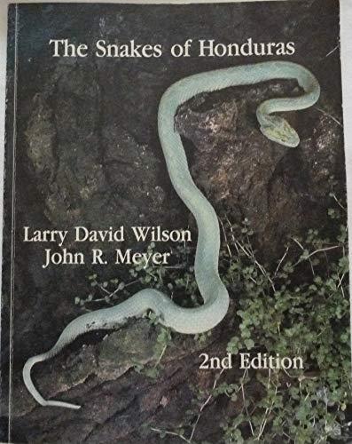9780893261153: The Snakes of Honduras