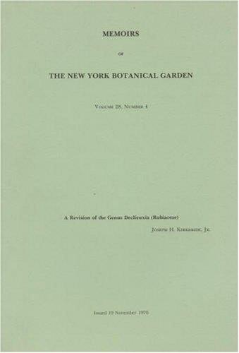 A Revision of the Genus Declieuxia (Rubiaceae): Jr. Joseph H.