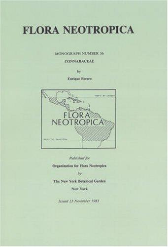Connaraceae (Flora Neotropica Monograph No. 36 ) (Spanish Edition): Forero, Enrique