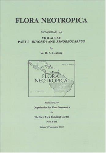 9780893273163: Violaceae-Part I. Rinorea and Rinoreocarpus (Flora Neotropica Monograph No. 46)