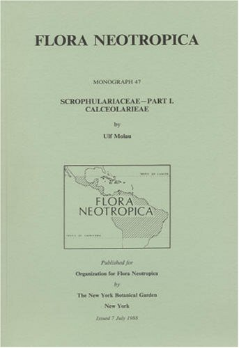 9780893273279: Scrophulariaceae, Part 1 (Flora Neotropica, Monograph)