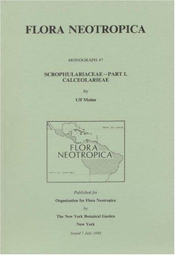 9780893273279: Scrophulariaceae, Part 1 (FLORA NEOTROPICA, MONOGRAPH)