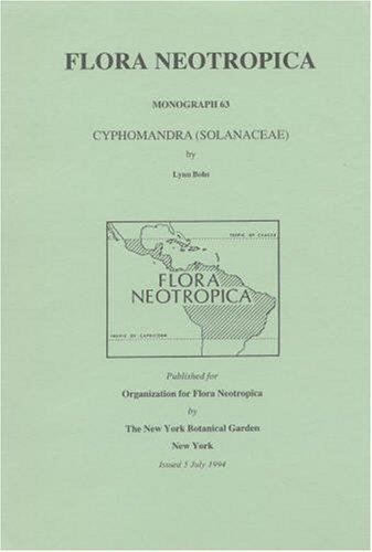 9780893273859: Cyphomandra (Solanaceae) (Flora Neotropica : Monograph 63)