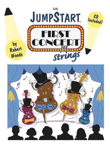 9780893280956: Jumpstart First Concert for Strings - Cello: Grade 1